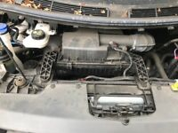 Ford transit custom engine and box fwd