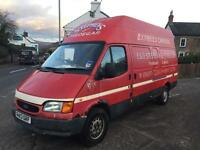 Ford transit HighCube - BANANA ENGINE. - spares or repair - export