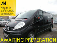 Renault, TRAFIC, Panel Van, 2011, Manual, 1996 (cc)