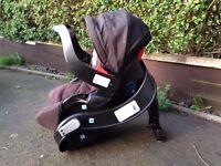 Graco Evo Travel System (Carry Cot/Pram, Push Chair, Car Seat)