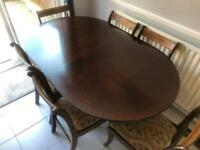 Vintage Dining Room Table And Chairs *BARGAIN*
