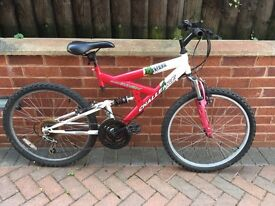 Childs Bike Bicycle Full Suspension