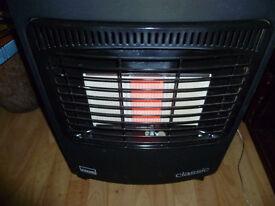 Gas heater - is not empty