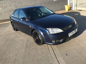 NO OFFERS -- 2005 Ford Mondeo ST 2.2 Diesel - Heated Seats Front AND BACK - Air Con - Long MOT