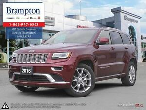 2016 Jeep Grand Cherokee Summit | 4x4 | Ex Demo | NAV | Leather