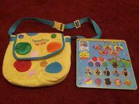 Mr tumble spotty bag tumble tap tablet pad