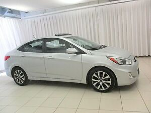 2017 Hyundai Accent SE SEDAN w/ SUNROOF, BLUETOOTH AND ALLOYS!!!