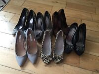 LADIES SHOES SIZE 6 JOB LOT