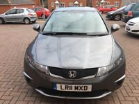 2011 Honda Civic Se I-Vtec 1.4 Petrol 12 Months MOT 32000 Genuine Low Mileage 5dr 1 Owner FSH