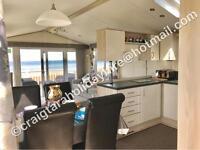 *BEACHFRONT*••brand new•• 2-5 june 3 bedroom platinum caravan for hire at craig tara