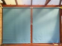 Dunelm Thermal Blackout Roller Blinds x3