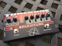 Radial Plextube Overdrive distortion and boost pedal