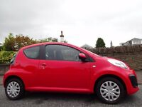 SPRING/SUMMER SALE (13) CITROEN C1 1.0 VTR 3dr ONLY 13,000 Miles FREE DELIVERY/MOT/£20 ROAD TAX/FUEL