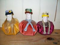 "Christmas Decoration. Home made. ""We three Kings"""