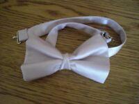Bow tie, beige colour