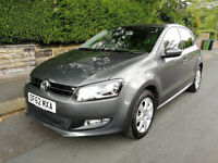 Volkswagen Polo 2013 Automatic 1,4 Petrol 10 Month MOT 2 Owners from new 21k genuine Millage