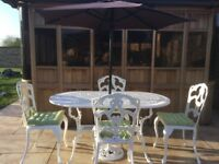 Cast Garden Table and chairs