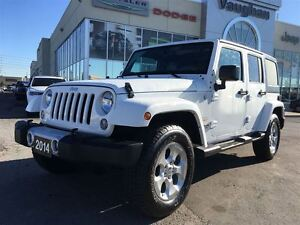 2014 Jeep WRANGLER UNLIMITED 1 Owner Sahara Unlimited 4x4 - Only