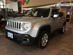 2016 Jeep Renegade DEMO*ONLY 1500 KMS*LIMITED*4X4*NAVIGATION*BEA