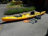 Scupper Pro full fishing kayak setup