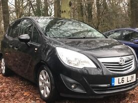 Vauxhall Meriva 1.7 CDTi 16v SE 5dr 2011 MPV 71,109 miles Automatic AA Inspection Report available