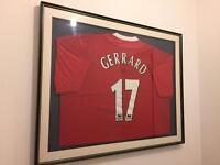 Signed Gerrard shirt