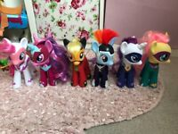 6 large ponies