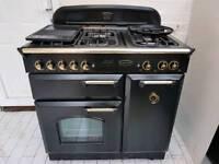 Rangemaster Classic 90 Gas Range cooker with Matching Rangemaster