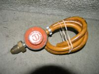 Regulator to fit a Propane Calor Gas Bottle Weymouth