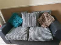 3 and 2 seater settee