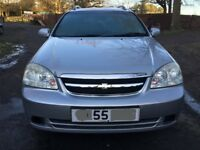 Chevrolet lacetti SX estate for sale, MOT, no advisory on last MOT, low mileage, 1 former keeper.