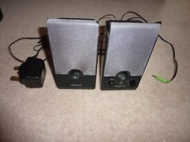 A Set Of Creative Speakers For Stereo Or Computer