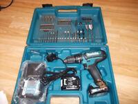 New Makita cordless hammer driver drill (10,8 V)