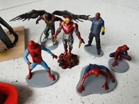 Marvel figures and other toys