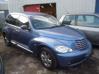 Chrysler PT CRUISER CRD,5 door hatchback,rare car,full heated leather interior,runs and drives well
