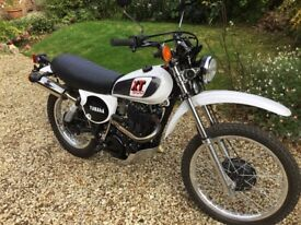 Yamaha XT 500 Complete ground up rebuild in excellent condition.