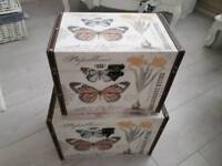 French storage trunks