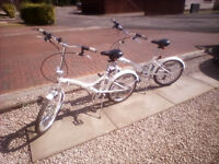 Two Folding Bikes