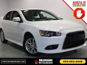 2015 Mitsubishi Lancer SE CVT Sieges-Chauf Bluetooth USB/MP3 A/C