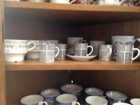 Royal Albert etc Bone China various cups, jugs, teapots, etc, perfect condition