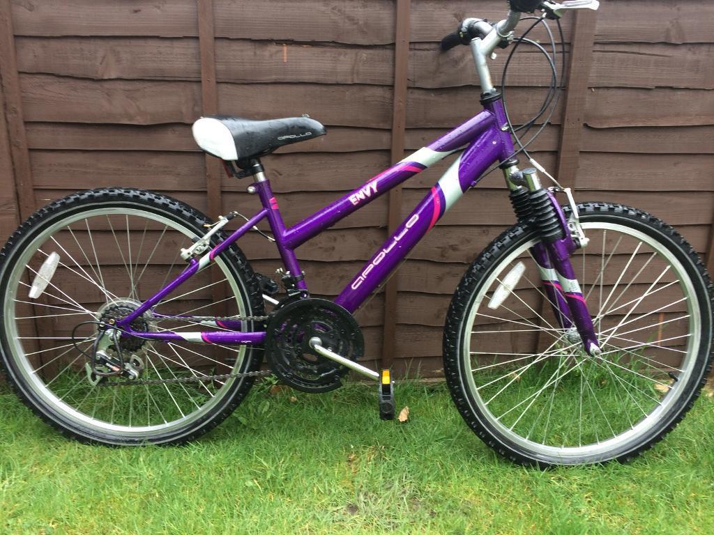 Girls Apollo envy mountain bike