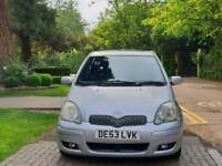 TOYOTA YARIS AUTOMATIC 1.0L 5DOOR 69000 WARRANTED MILES 15 SERVICES HPI CLEAR EXCELLENT CONDITION