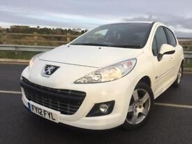 PEUGEOT 207 1.6HDI SPORTIUM IN VERY CLEAN CONDITION LONG MOT WELL MAINTAINED LOOKS GREAT