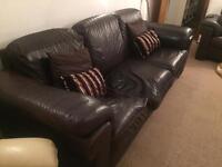 Leather Sofa - FREE!!!