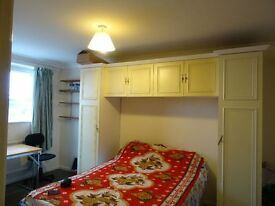 A double room is available to rent in an Indian family house