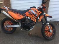 £650 sinnis apache 2014 2 sets of keys full log book