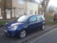 Ford fiesta zetec climate 1.4 tdci 58 plate px or swap bigger car