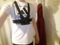 GoPro Chest Harness With 2 Bolts