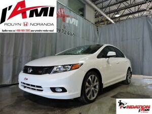2012 Honda Civic Si (M6) GPS TOIT OUVRANT MAGS