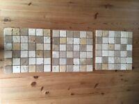 Mosaic Tile Set x3 305mm X 305mm